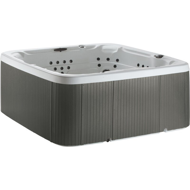 Ls700dx+7 Person+90 Jet+hot+tub+with+waterfall