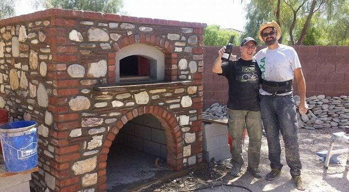 Rick Moonen Pizza Oven