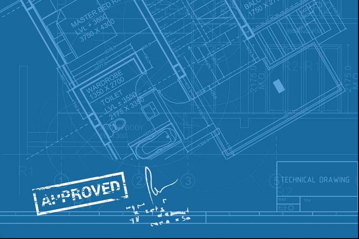 Blue Print Approved