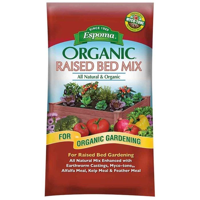 raised bed soil