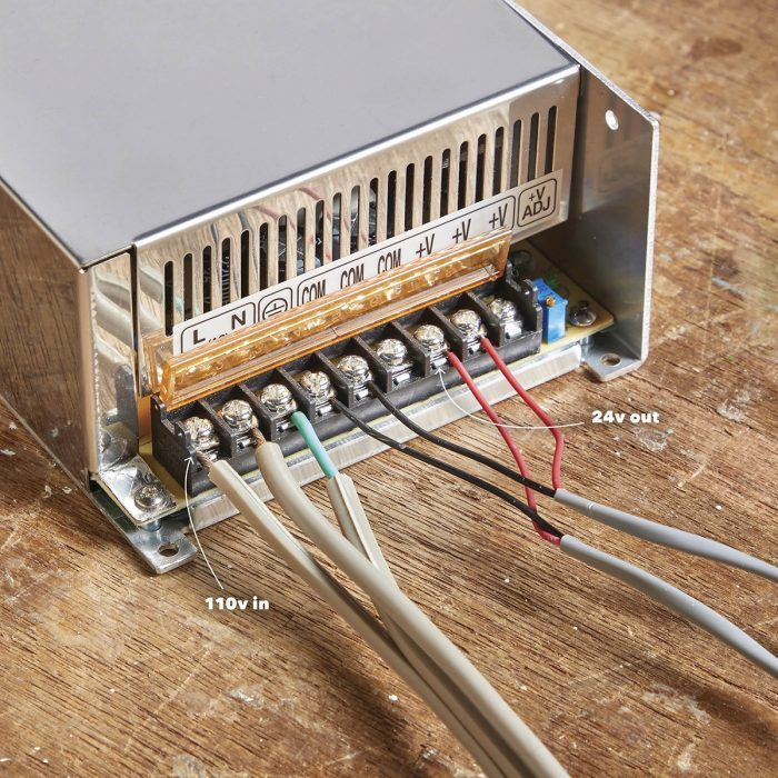 Connect the power supplies