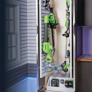 Keep Your Tools Ready with an In-Cabinet Charging Center