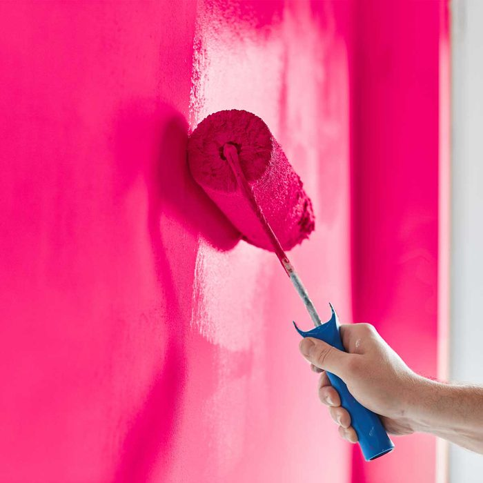 Bold Pink Paint