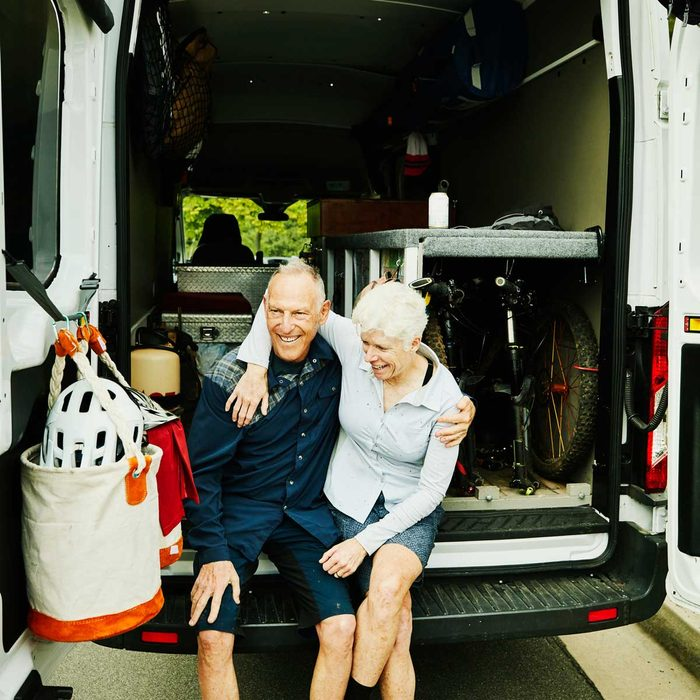 Couple in Camper Van