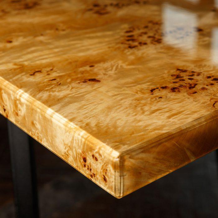 Burlwood Table