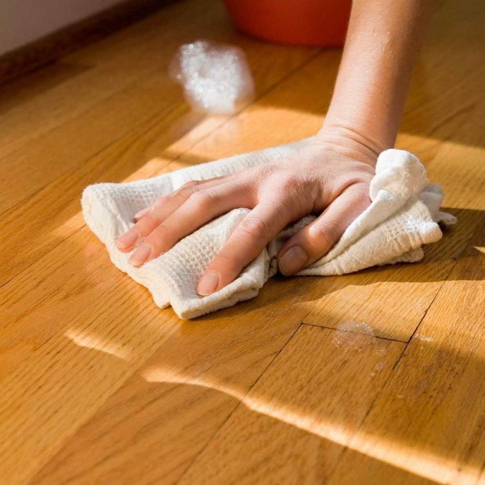 Cleaning Wood Floor