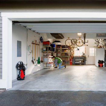 Organizing A Garage