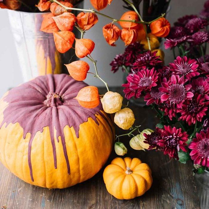 Paint Drip Pumpkin
