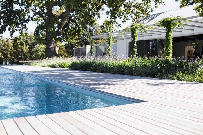 Wood Pool Decking