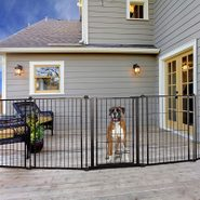 5 Best Dog Gates for the Outdoors