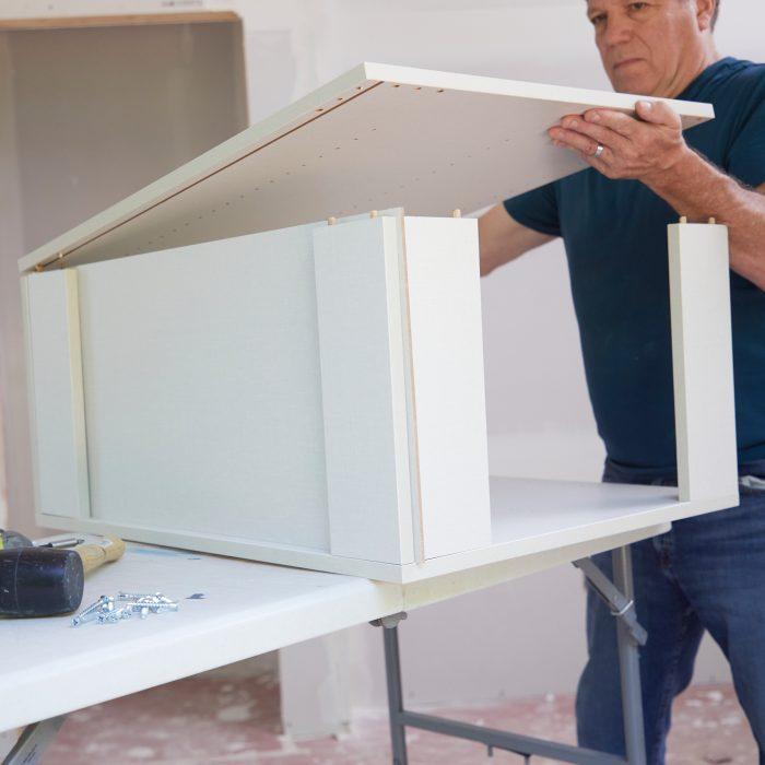 Assemble Rta Cabinet