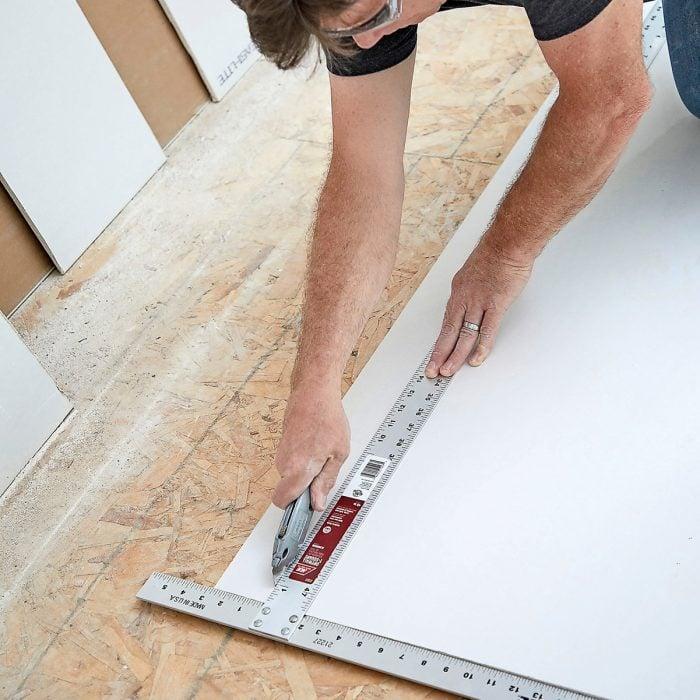 Drywall Scoring