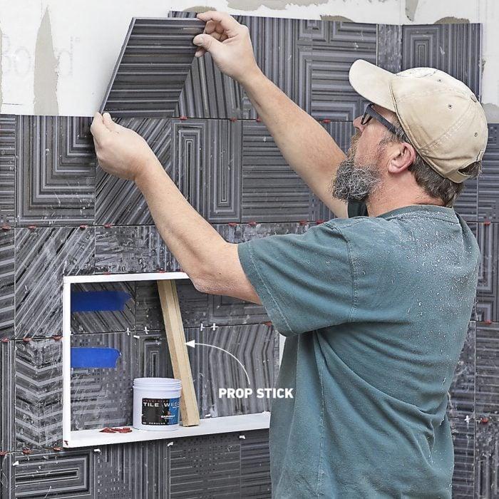 Tile walls