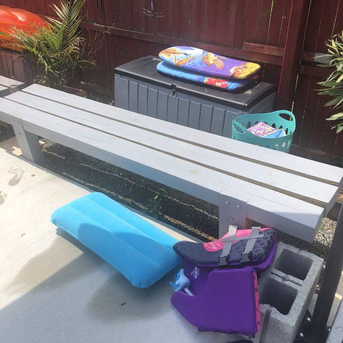 Pool benches