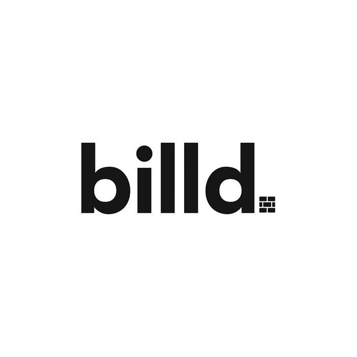 the logo for Billd