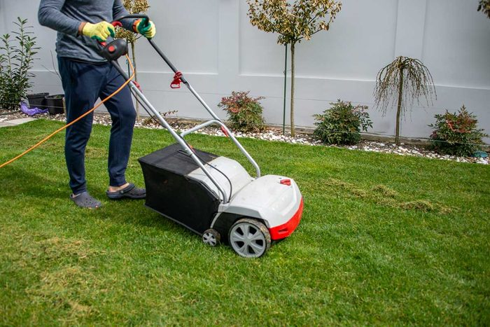 Corded Electric Mower Gettyimages 1215372054