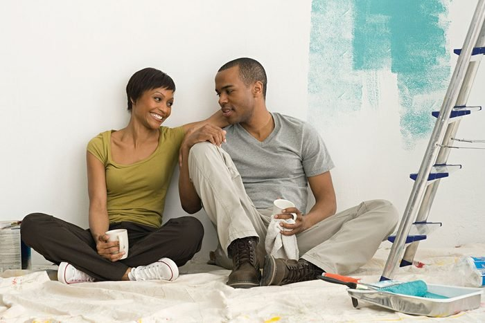 Couple Painting Room Gettyimages 97830040
