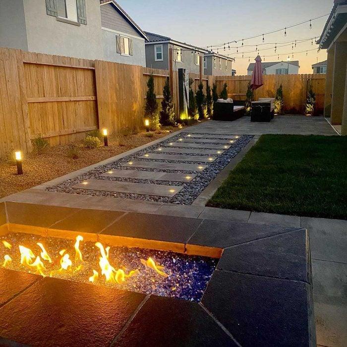 Fire Pit Lighting