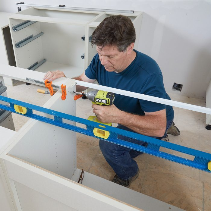 Leveling Cabinets