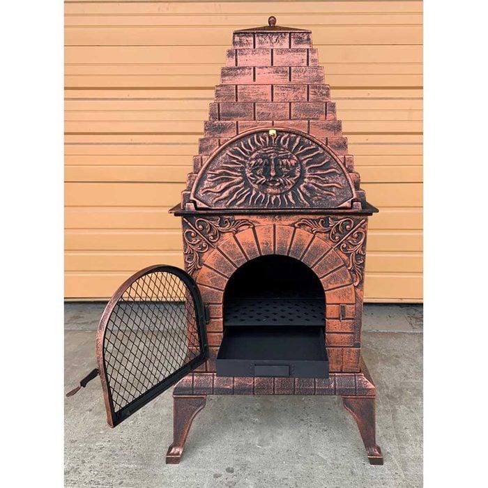 Outdoor Fireplace Scipio+pizza+oven