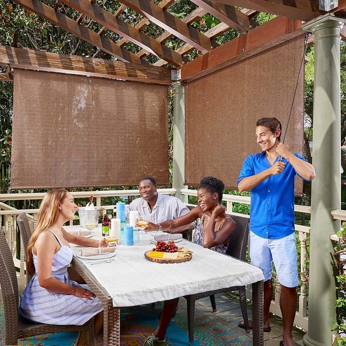 Roll Up Patio Shade