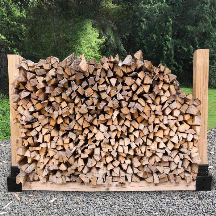 Best Bargain Diy Outdoor Firewood Rack