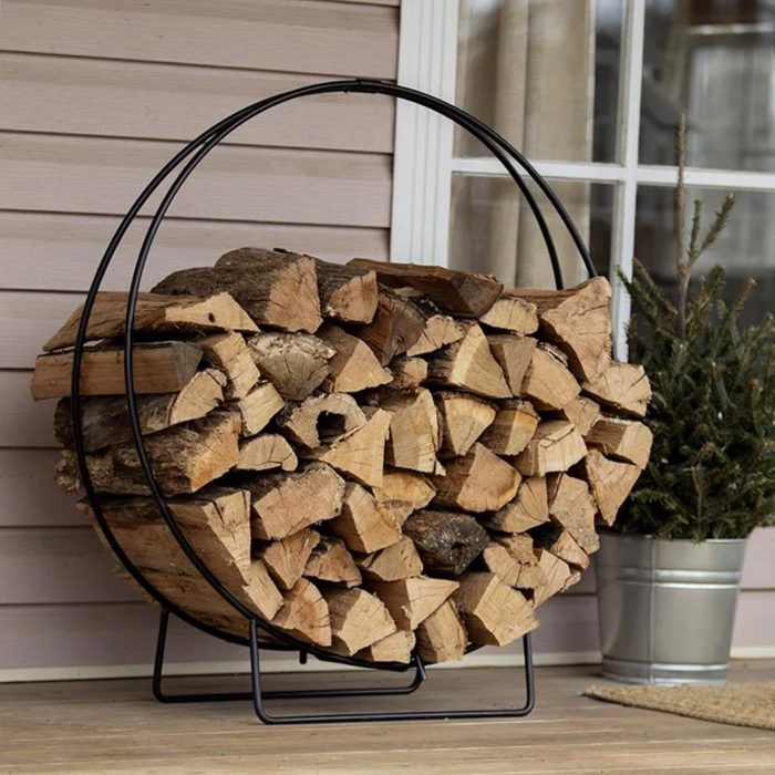 Best Hoop Style Outdoor Firewood Rack