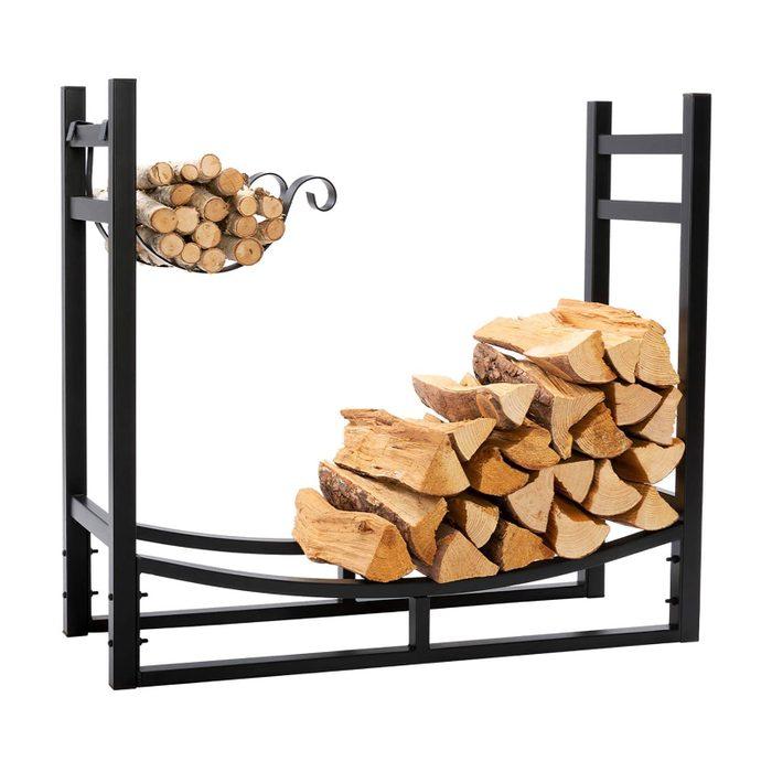 Best Outdoor Firewood Rack With Kindling Holder