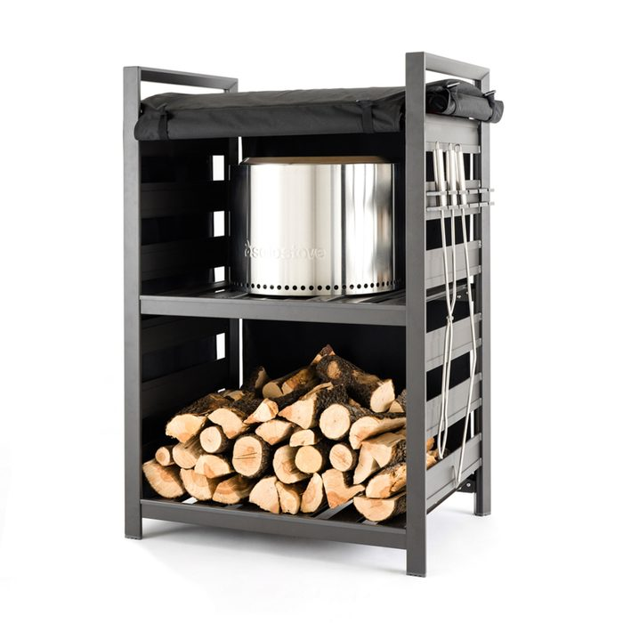 Best Outdoor Firewood Rack And Accessory Storage