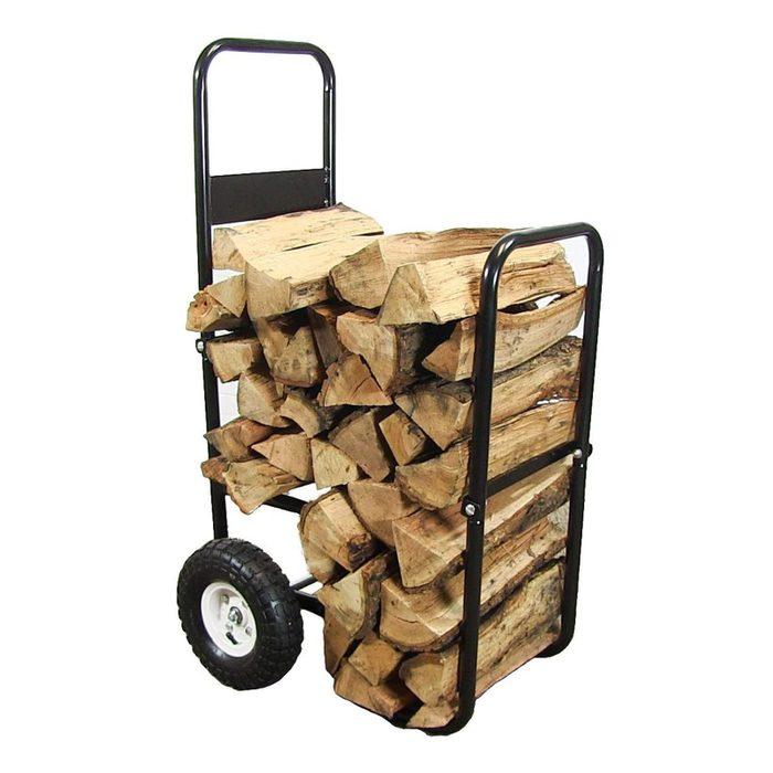 Best Wheeled Outdoor Firewood Rack