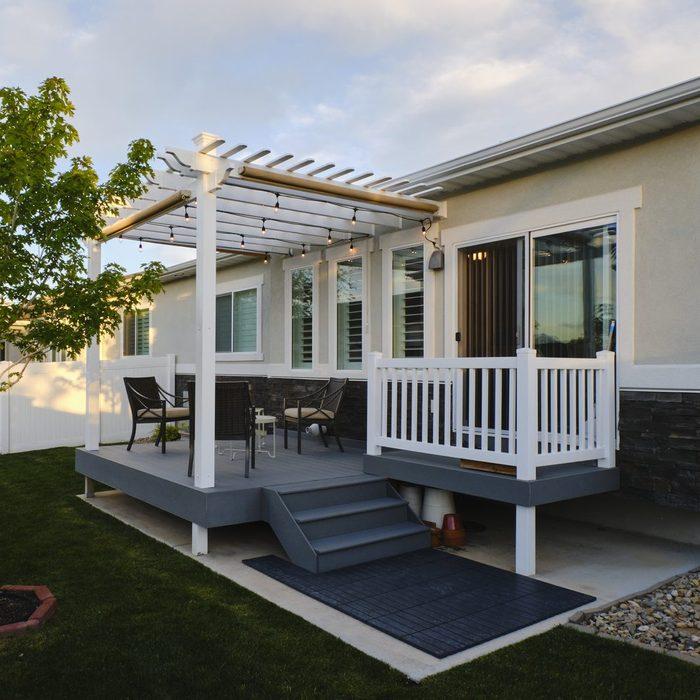 Backyard Deck and Pergola