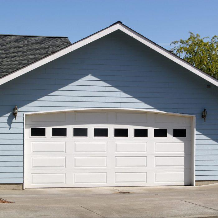 Arched Garage Door Opening