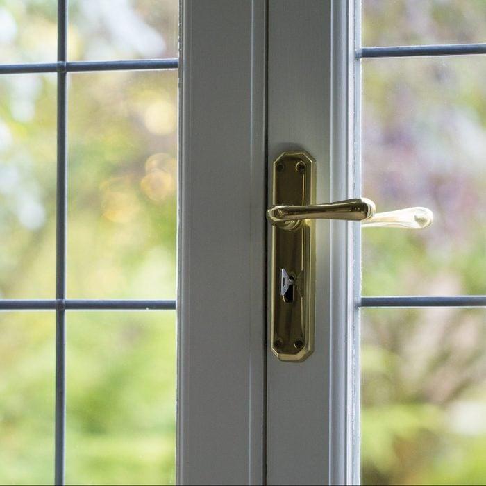 Domestic locked door