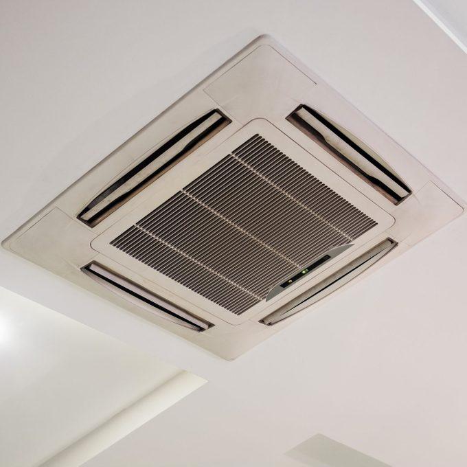 Ceiling recessed air conditioner