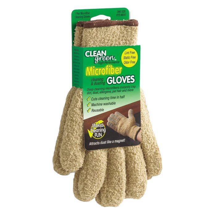 Master Manufacturing Cleangreen Microfiber Cleaning Gloves