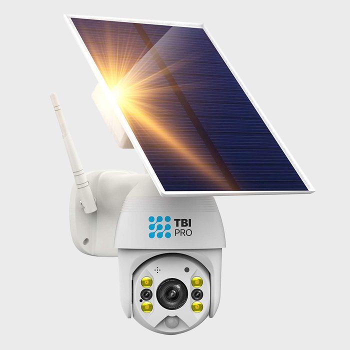 Tbi Pro Solar Security Camera