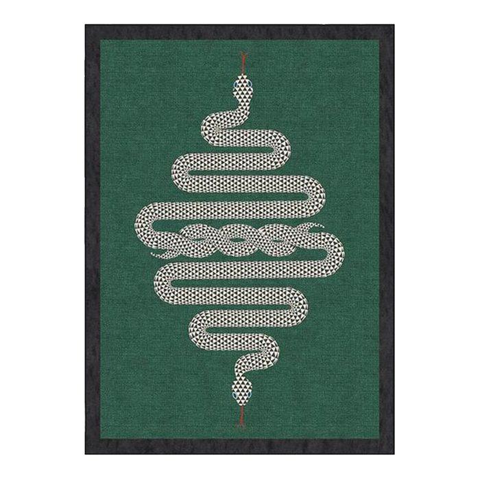 Johnathan Adler Statement Snake Rug