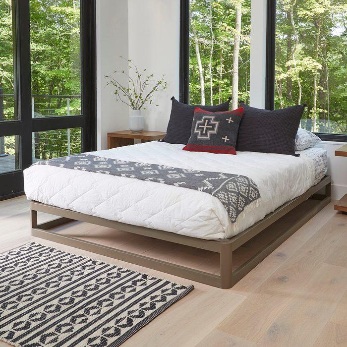Porch and Den McAlpin Metal Platform Bed