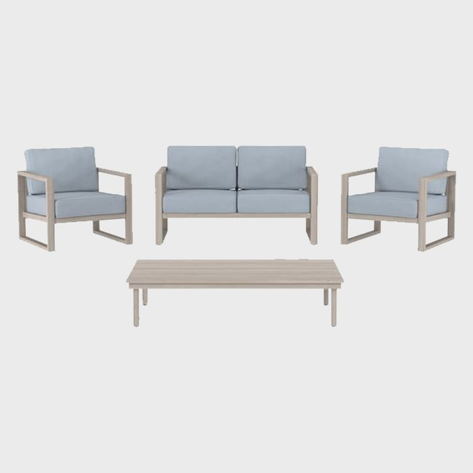 Four Piece Patio Furniture Set
