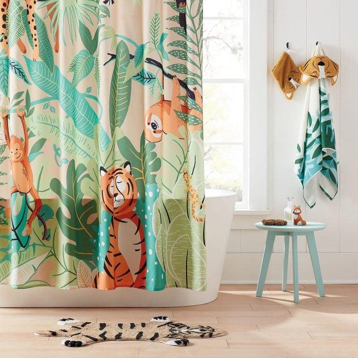 Marmalade™ 72 Inch X 72 Inch Jungle Friends Shower Curtain