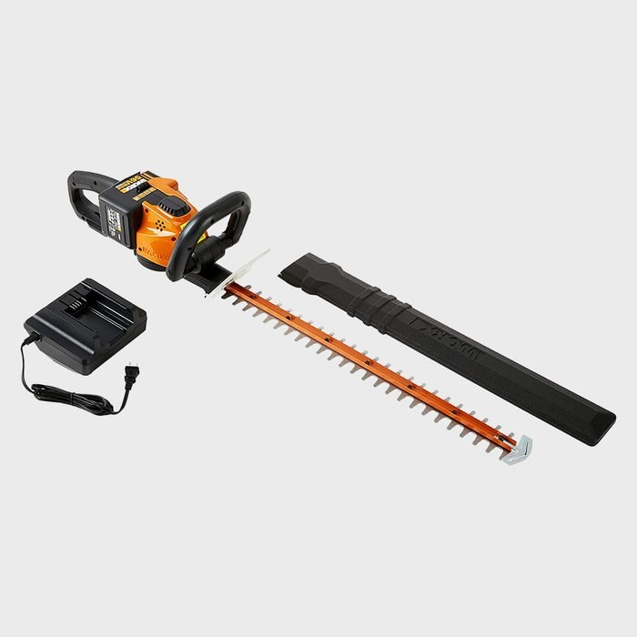 Worx 24 Inch Battery Powered Hedge Trimmer