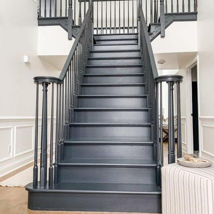 Black Painted Stair Case