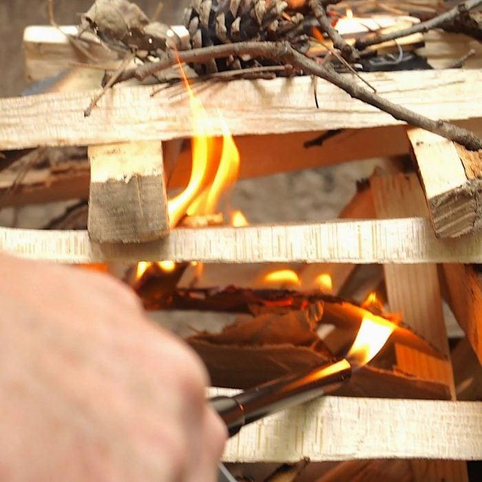 Campfire Lighting