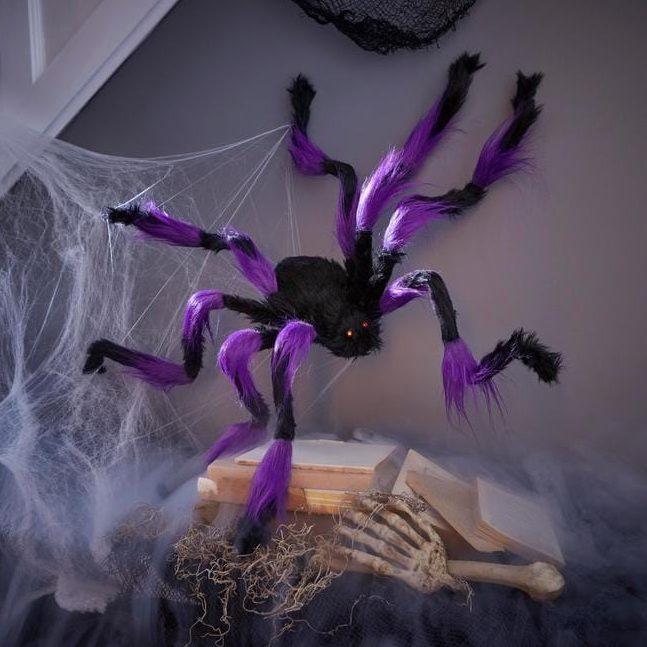 Posable Furry Spider