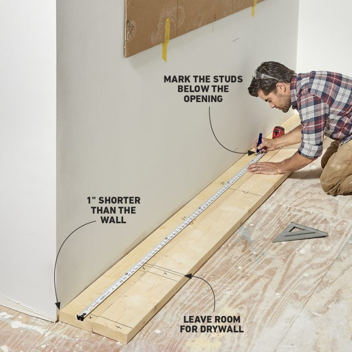 Install Electric Fireplace Step 2
