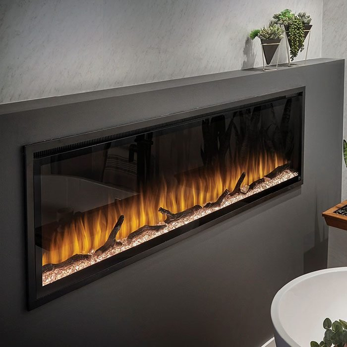 Installed Electric Fireplace