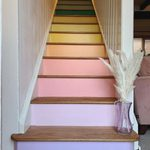 9 DIY Painted Stairs Ideas
