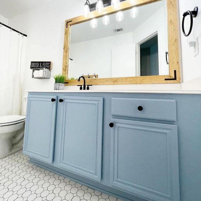 Colorful Bathroom Vanity