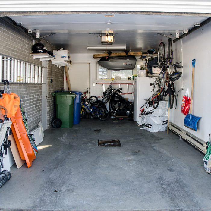 organized home garage