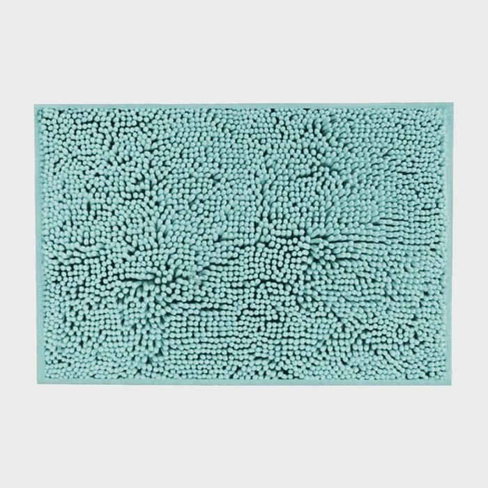 Plush Microfiber Chenille Bath Rug By H.versailtex